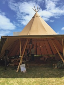 Tepee by TP & Co @ First Comes Love Fair