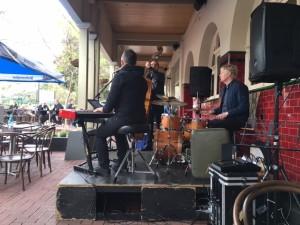 Adam James Trio (Adam James - keys, Ben Vanderwal - drums, Peter Jeans - Dbl Bass)