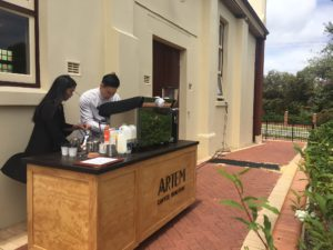 Artem Coffee Cart (Darren & Tracey)